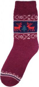 Pletené ponožky a čepice